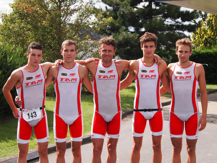 triathlon en equipe