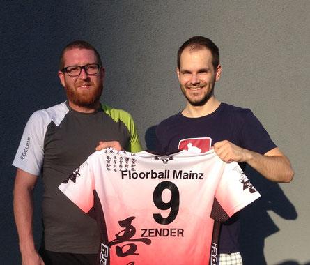 Neuer Torwart für die Regionalliga von Floorball Mainz vorgestellt