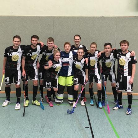 Floorball Mainz nimmt neben regulären Ligaverpflichtungen auch immer wieder an Spaß-Events teil
