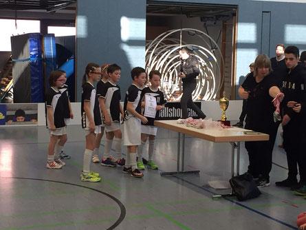 Die U11 von Floorball Mainz belegte in der Saison 2016/2017 einen respektablen 5. Platz