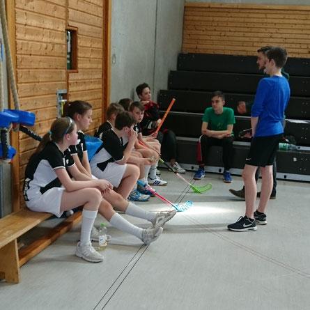 Die U13 von Floorball Mainz belegte in der Saison 2016/2017 einen respektablen Platz