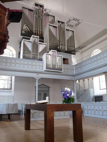 Orgel der Neanderkirche Düsseldorf