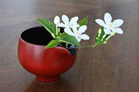 a single flower can create a cheerful atmosphere in the space
