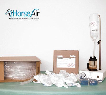 Bild für Sole für Pferde-Inhalation von Horseair.de