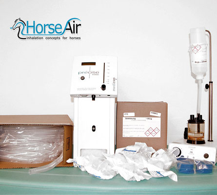 Bild für Paket Sole + Sauerstoff für Pferde-Inhalation