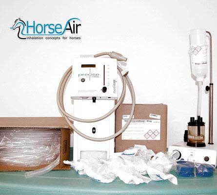 Bild für Paket Sole + Ionisierter Sauerstoff für Pferde-Inhalation
