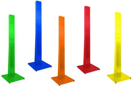 DesiSTAND Metall Säule in RAL Farben erhältlich! Z.B. rot, grün, gelb, blau, orange Desinfektionsständer Ständer Desinfektion Station