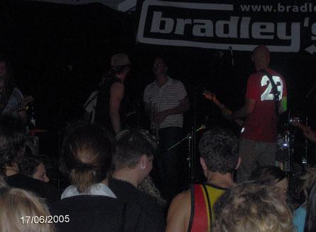 Bradleys H und eine berühmte Trompete 2005 in Kirchanschöring