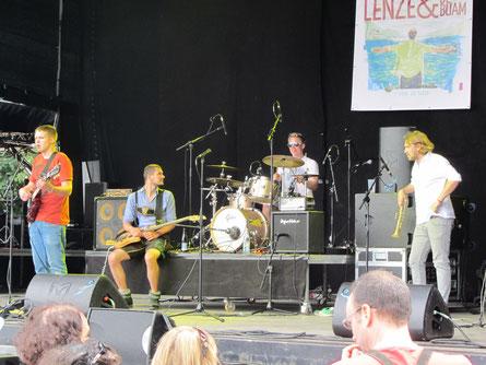 Lenze und die Buam und Stefan Dettl 2013 in Stein