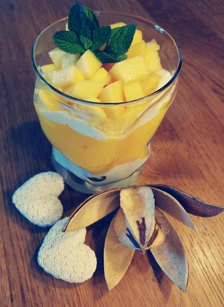 Mango Schichtdessert
