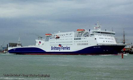Baie de Seine quittant le port de Portsmouth.