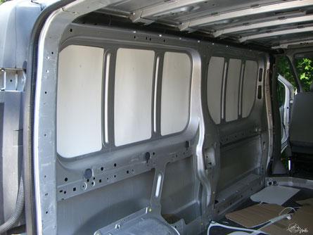 Renault Trafic L2H1 - Selbstausbau 2. Ausbaustufe