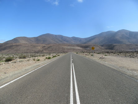 Fahrt nach Punta Choros
