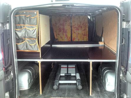 Renault Trafic L2H1 - Selbstausbau 3. Ausbaustufe