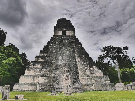 Maya site Tikal