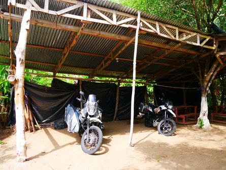 Campingplatz in Uvita