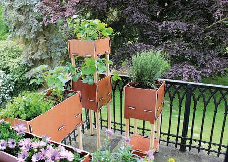 Trends für Garten und Balkon (Foto: Werkhaus)