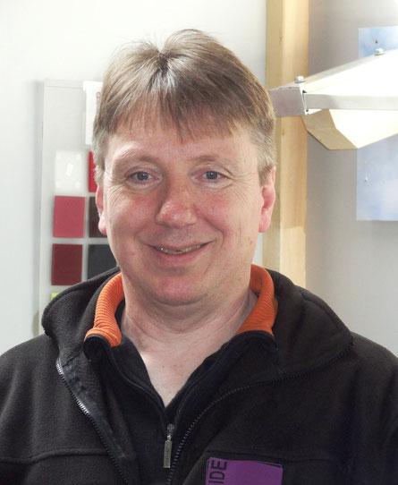 Thorsten Neumann Inhaber der Glaserei &  des Glasgroßhandels