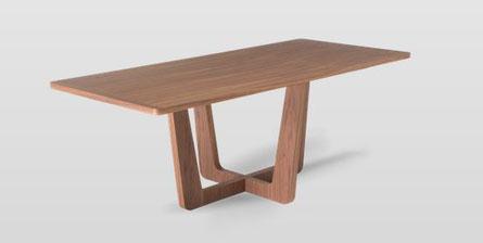 Natuzzi Italia Tisch Circus Holz rund eckig