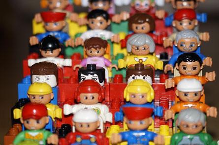 Lego Menschen individuell Individualität ernährung diät beste abnehmen einzigartig essen