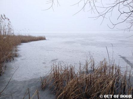 Der zugefrorene und verzaubernde Blankensee