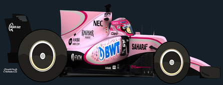 Esteban Ocon by Muneta & Cerracín