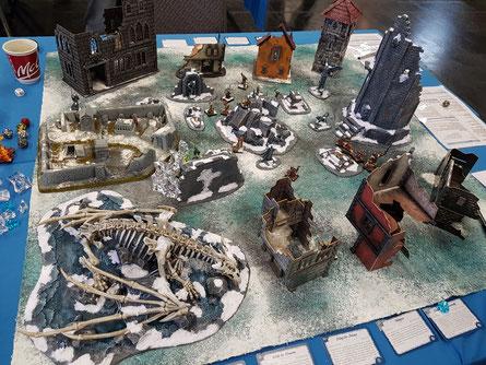 Frost Grave: Zwei Gruppen durchkämmen Ruinen nach Schätzen