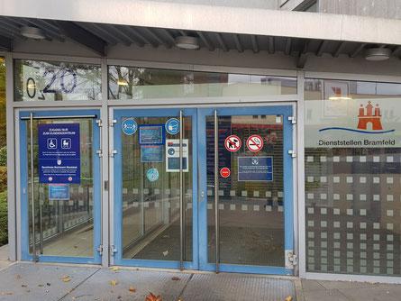 Das Kundenzentrum Bramfeld/Herthastraße