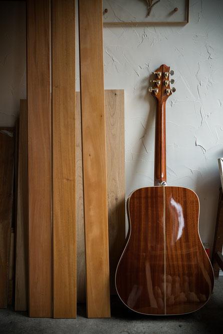 マホガニー ギター andwood アンドウッド