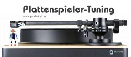 Graphik: good-vinyl.de, Plattenspieler-Tuning