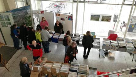 Plattenbörse Heidelberg-Kirchheim 3.11.2018 Foyer