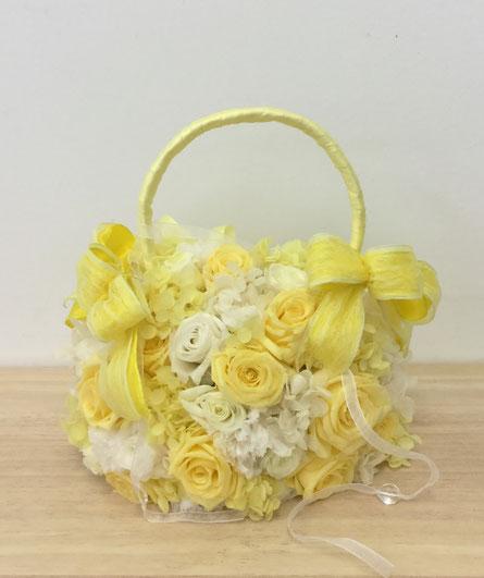 プリザのbagブーケ