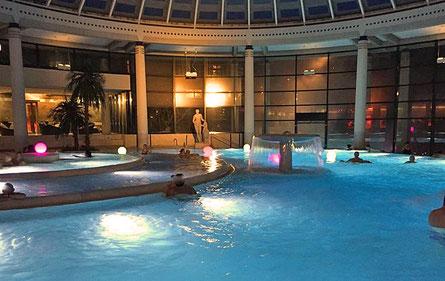 Caracalla Therme, für wohltuende Enspannung und ausgiebiges Badevernügen im heißen Thermalwasser