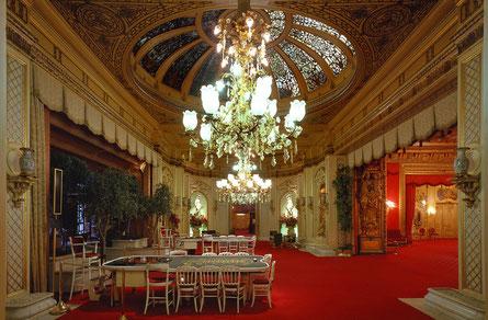 Casino Baden Baden, im Ambiente der Belle Epoque, auch ohne zu spielen, immer ein Besuch wert.
