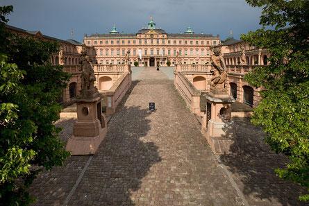 Residenzschloss Rastatt, erste Barockresidenz am Oberhein