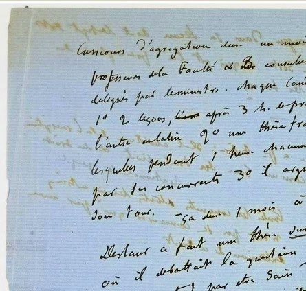 Manuscript Flaubert, Sentimental Education