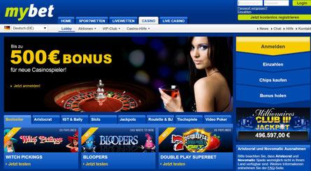 Casino Lobby Mybet
