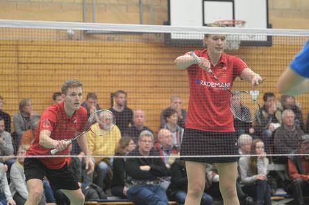 Foto: Wollen gegen Trittau gewinnen: Josche Zurwonne und Linda Efler vom SC Union 08 Lüdinghausen.