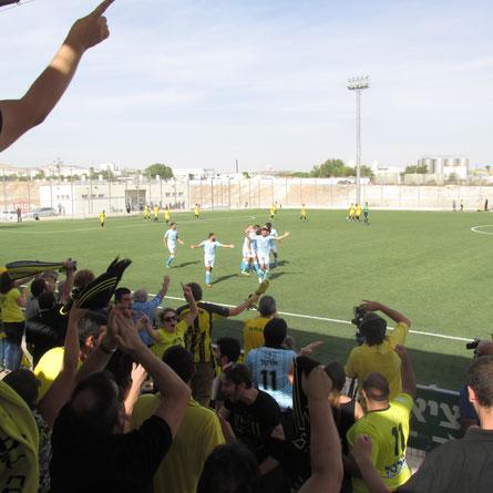 Fans von Beitar Nordia (Foto: Alina Schwermer)