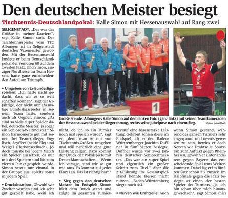 Werra-Rundschau-Artikel vom 18.10.2016