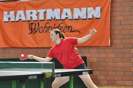 Damen-Vereinsmeisterin: Annika Oesterheld.