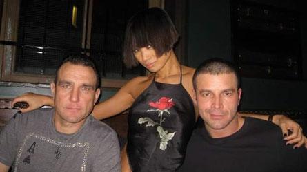mit Vinnie Jones und Bai Ling