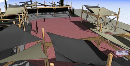 3D ontwerp amfitheater