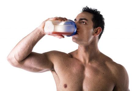 Whey Protein oder Weight Gainer