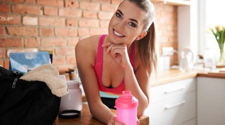 Whey Protein für Frauen