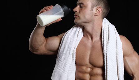 Protein Shake vor dem Schlafen gehen