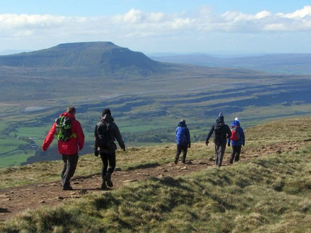 Guided walks in the Yorkshire Dales and Lake District