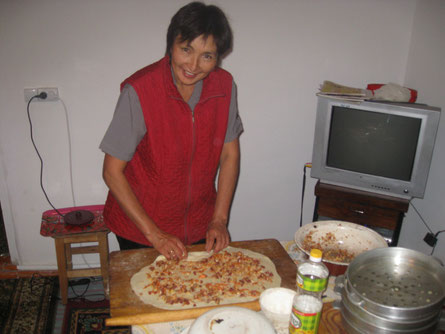 kirgisisches Familienleben