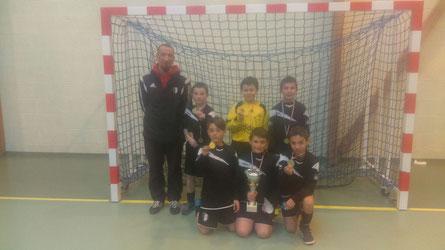 L'équipe 1, gagnante du tournoi !