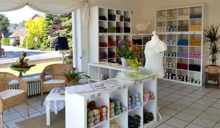 SuZi's Wollwerkstatt Geschäftseröffnung